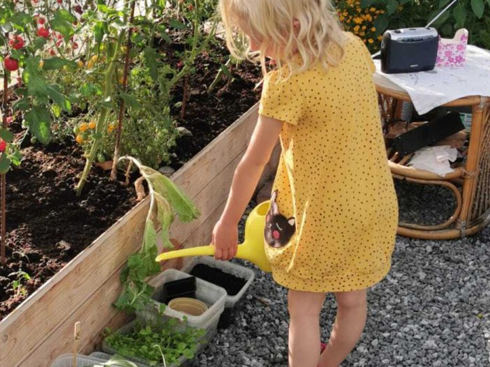 gardening teaches kids sharing and caring