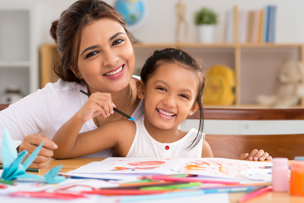 Painting is a creative activities for kids